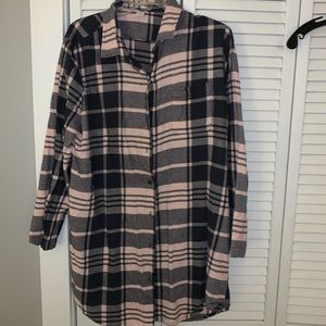 Flannel shirt/dress